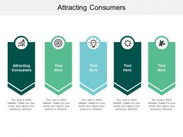 Attracting Consumers Ppt Powerpoint Presentation Icon Infographic Template Cpb