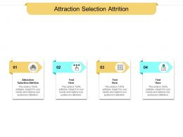 Attraction Selection Attrition Ppt Powerpoint Presentation Icon Templates Cpb