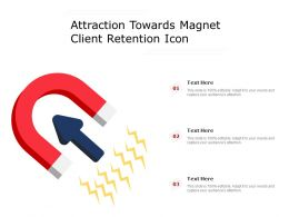 Attraction Towards Magnet Client Retention Icon