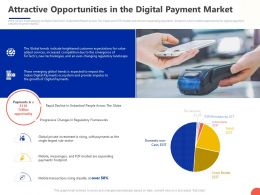 Attractive Opportunities In The Digital Payment Market Ppt Powerpoint Presentation Professional
