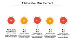 Attributable Risk Percent Ppt Powerpoint Presentation Gallery Microsoft Cpb