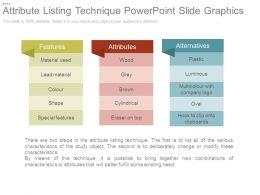attribute_listing_technique_powerpoint_slide_graphics_Slide01