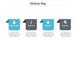 Attribute Map Ppt Powerpoint Presentation Summary Cpb