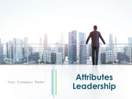 Attributes Leadership Awareness Communication Influence Education Training