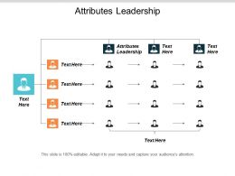 Attributes Leadership Ppt Powerpoint Presentation File Example Introduction Cpb