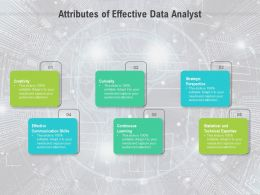 Attributes Of Effective Data Analyst
