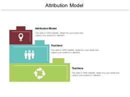 Attribution Model Ppt Powerpoint Presentation File Professional Cpb