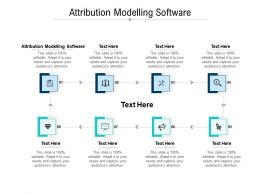 Attribution Modelling Software Ppt Powerpoint Presentation Portfolio Portrait Cpb