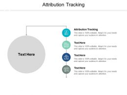 Attribution Tracking Ppt Powerpoint Presentation Summary Cpb