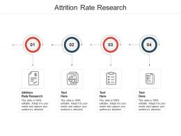 Attrition Rate Research Ppt Powerpoint Presentation Outline Demonstration Cpb
