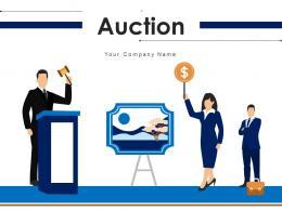Auction Automobile Business Revenue Completion Process Participants