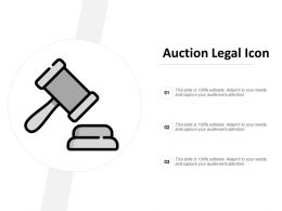 Auction Legal Icon