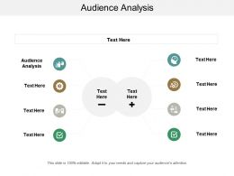Audience Analysis Ppt Powerpoint Presentation File Example Topics Cpb