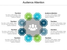 Audience Attention Ppt Powerpoint Presentation Summary Slides Cpb