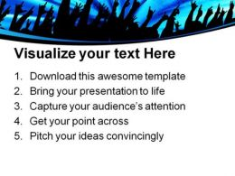 Audience Entertainment PowerPoint Templates And PowerPoint Backgrounds 0311  Presentation Themes and Graphics Slide03