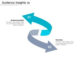 Audience Insights Ppt Powerpoint Presentation Gallery Information Cpb