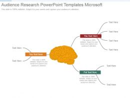 Audience Research Powerpoint Templates Microsoft