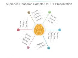 Audience Research Sample Of Ppt Presentation