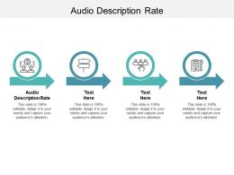 Audio Description Rate Ppt Powerpoint Presentation Summary Introduction Cpb