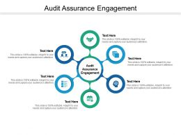 Audit Assurance Engagement Ppt Powerpoint Presentation Shapes Cpb
