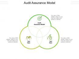 Audit Assurance Model Ppt Powerpoint Presentation Portfolio Summary Cpb
