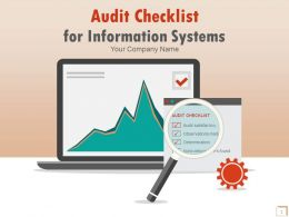 Audit Checklist For Information Systems PowerPoint Presentation With Slides