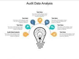 Audit Data Analysis Ppt Powerpoint Presentation Infographics Layout