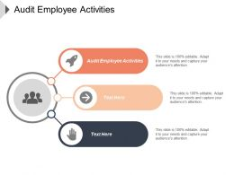 Audit Employee Activities Ppt Powerpoint Presentation File Picture Cpb