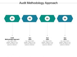 Audit Methodology Approach Ppt Powerpoint Presentation Outline Skills Cpb