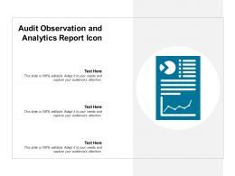 Audit Observation And Analytics Report Icon