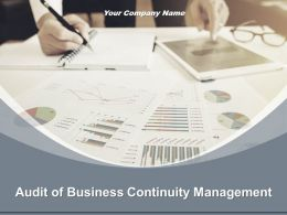 Audit Of Business Continuity Management Powerpoint Presentation Slides