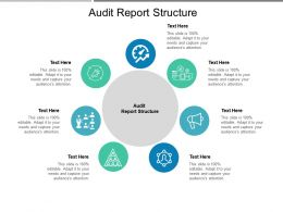 Audit Report Structure Ppt Powerpoint Presentation Model Designs Download Cpb