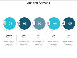 Audit Services Ppt Powerpoint Presentation Gallery Brochure Cpb