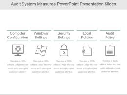 Audit System Measures Powerpoint Presentation Slides