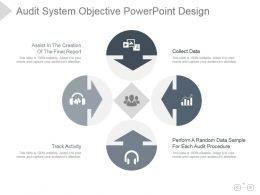 Audit System Objective Powerpoint Design