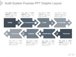Audit System Purpose Ppt Graphic Layout