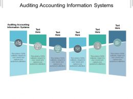 Auditing Accounting Information Systems Ppt Powerpoint Presentation Show Infographic Cpb