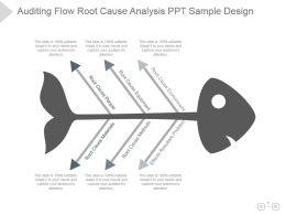 auditing_flow_root_cause_analysis_ppt_sample_design_Slide01
