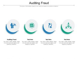 Auditing Fraud Ppt Powerpoint Presentation Slides Graphics Cpb