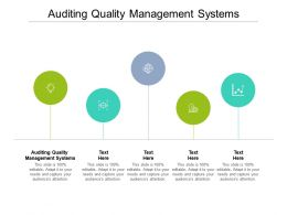 Auditing Quality Management Systems Ppt Powerpoint Presentation Inspiration Infographic Template Cpb
