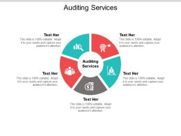 Auditing Services Ppt Powerpoint Presentation File Example Cpb