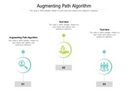 Augmenting Path Algorithm Ppt Powerpoint Presentation Model Show Cpb