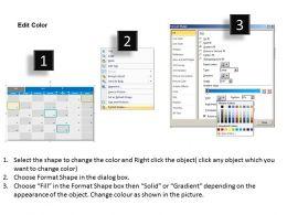 August 2013 Calendar PowerPoint Slides PPT templates