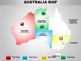 Australian Maps Ppt Layout 1114