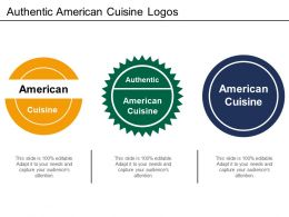 Authentic American Cuisine Logos
