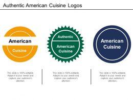 Authentic American Cuisine Logos