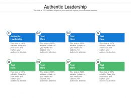 Authentic Leadership Ppt Powerpoint Presentation Model Design Inspiration Cpb