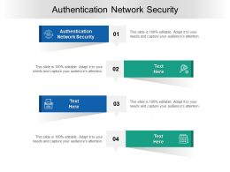 Authentication Network Security Ppt Powerpoint Presentation Outline Diagrams Cpb
