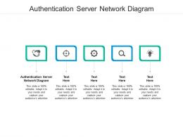 Authentication Server Network Diagram Ppt Powerpoint Presentation Summary Example Cpb