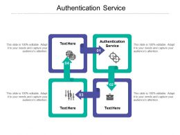 Authentication Service Ppt Powerpoint Presentation File Sample Cpb